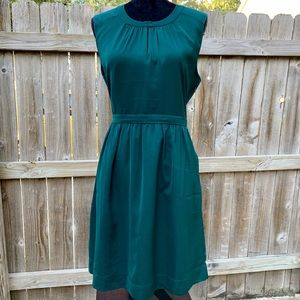 J crew emerald green dress size 12